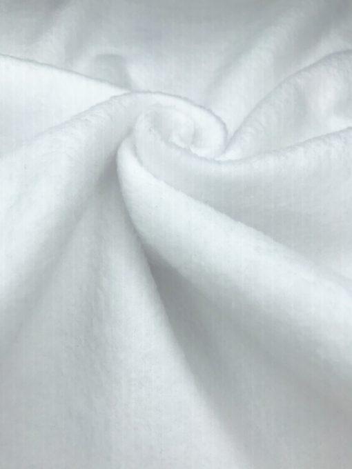 Флис однотонный Белый 34791