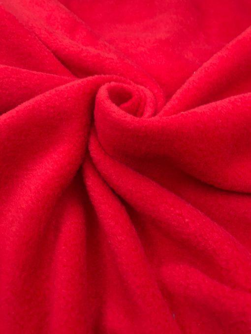 Флис однотонный Красный 34793