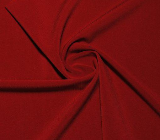 Трикотаж плательный  Эскот красный темно-красный